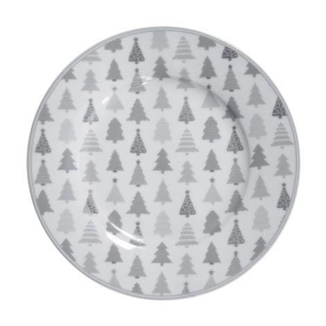 Krasilnikoff Teller Christmas Trees