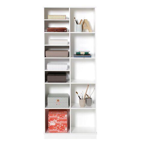 Oliver Furniture Wood Stand-Regal 2 x 5 Vertikal mit Sockel