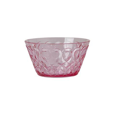 Rice Schüssel Acryl Pink