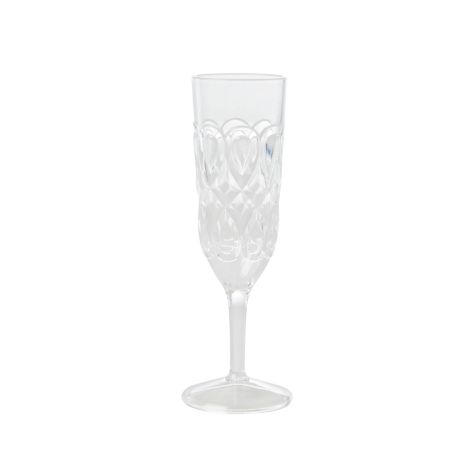 Rice Champagnerglas Acryl Clear