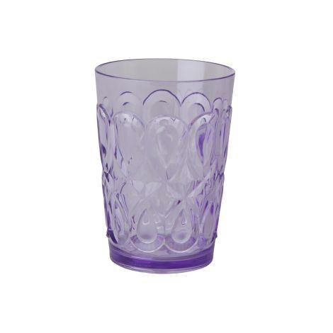 Rice Trinkglas Acryl Lavender
