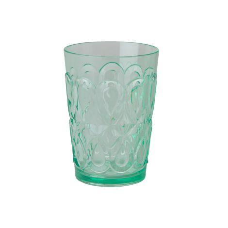 Rice Trinkglas Acryl Pastel Green