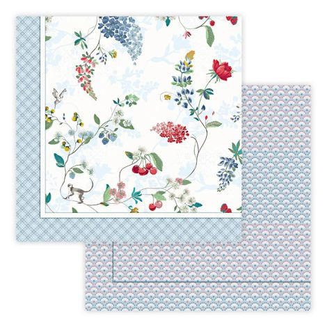PIP Studio Tagesdecke Quilt Hummingbirds Star White
