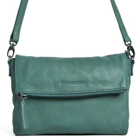 Sticks and Stones Ledertasche Ipanema Green Spruce Washed