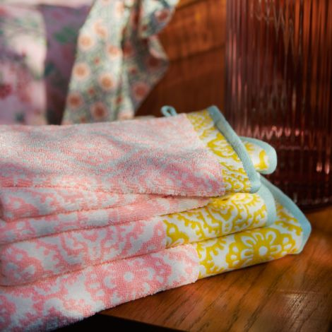 PIP Studio Handtücher Jacquard Check Pink