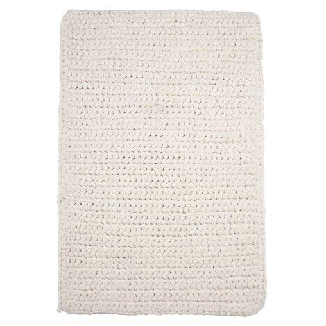 House Doctor Teppich Crochet Weiß 90 x 60