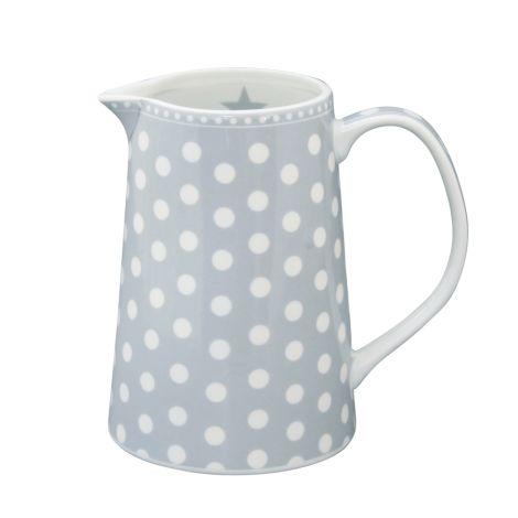 Krasilnikoff Krug Dots Grey