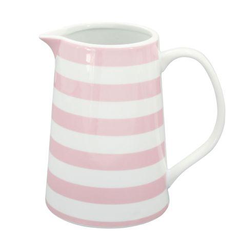 Krasilnikoff Krug Stripes Pink •