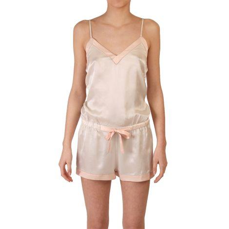 COCOON HOMEWEAR Jumpsuit Aphrodite Ecru/Rose