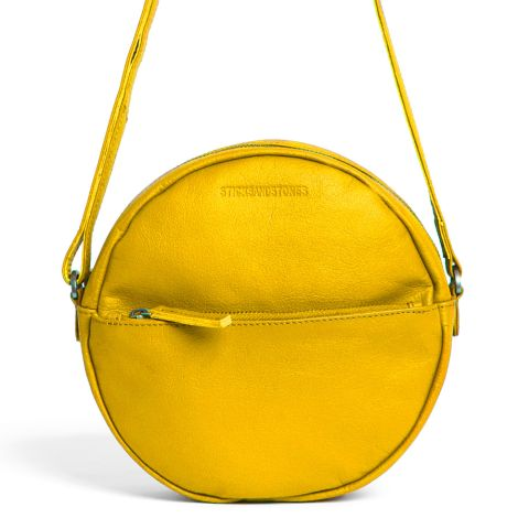 Sticks and Stones Ledertasche Juno Yellow Washed