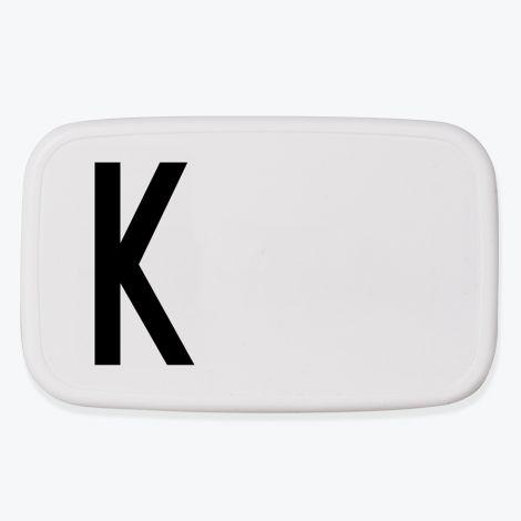 Design Letters Lunchbox K •