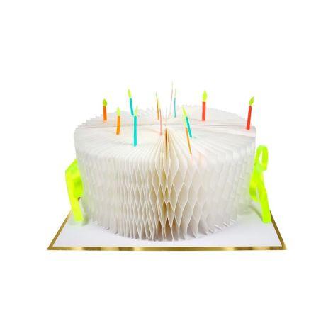 Meri Meri Karte Birthday Cake Honeycomb