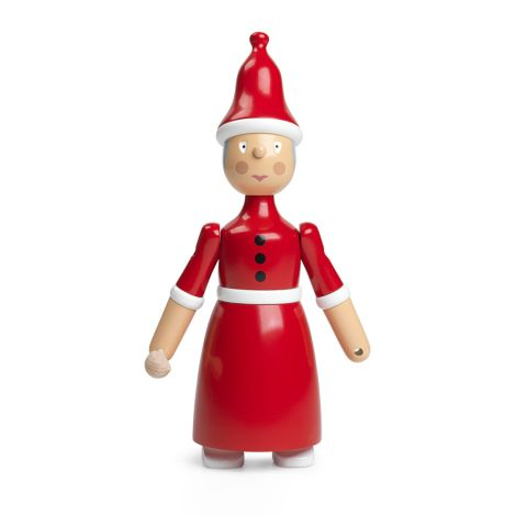 Kay Bojesen Weihnachtsfrau Rot/Weiß