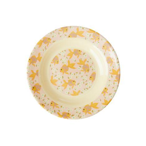 Rice Melamin Kinderschüssel Goldfish
