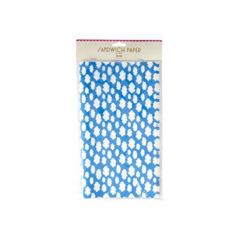 Rice Frühstückspapier Clouds Blau 50 Stk. •