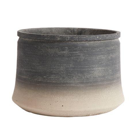 MUUBS Gefäß Kanji Low 34 Grey