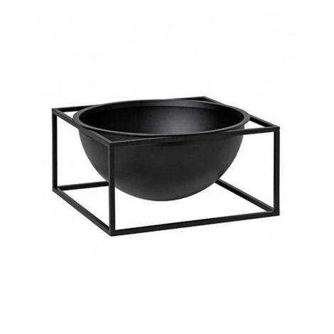 by Lassen Schale Bowl Centerpiece Large Black