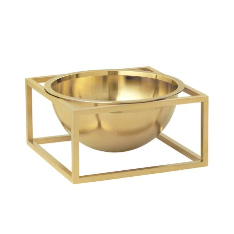 by Lassen Schale Bowl Centerpiece Small Brass