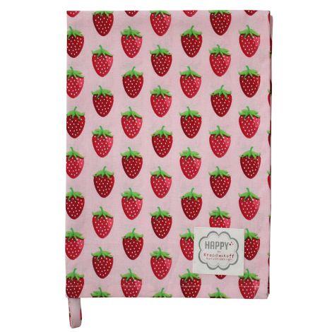 Krasilnikoff Geschirrtuch Strawberry Pink