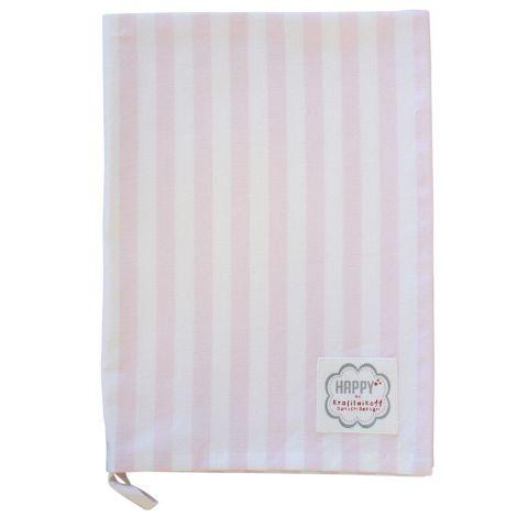 Krasilnikoff Geschirrtuch Pink Big Stripes