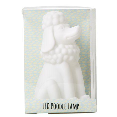 Rice Kinder Nachtlicht Pudel mit LED-Farbwechsel