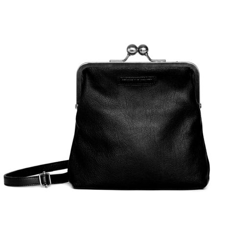 Sticks and Stones Ledertasche Le Marais Black Washed
