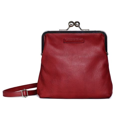 Sticks and Stones Ledertasche Le Marais Red Washed