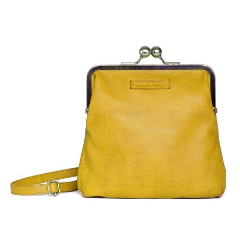 Sticks and Stones Ledertasche Le Marais Yellow Washed