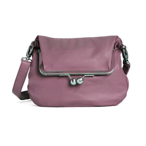 Sticks and Stones Ledertasche Lido Mauve Pink Washed