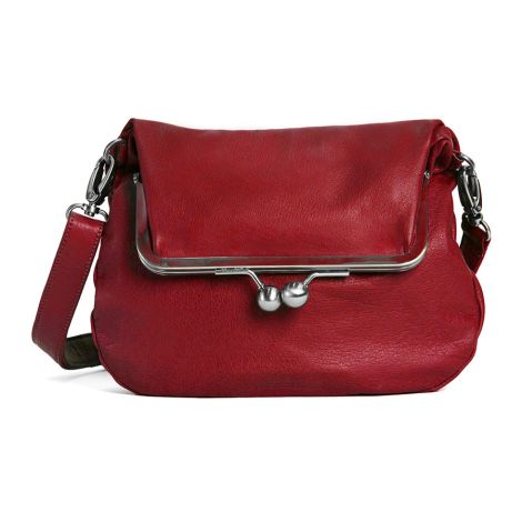 Sticks and Stones Ledertasche Lido Red Washed