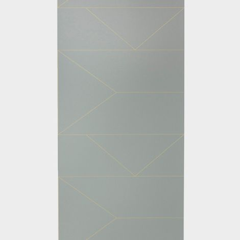 ferm LIVING Tapete Lines Grey