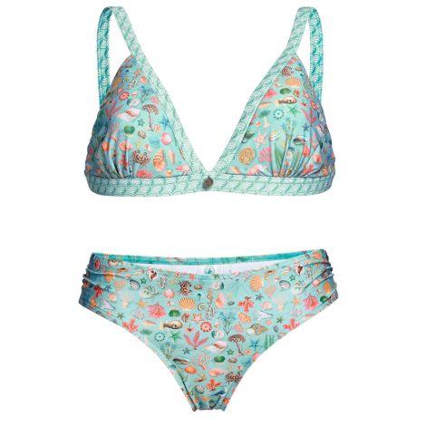PIP Studio Kombi-Bikini Lisa Little Sea Haze Top | L