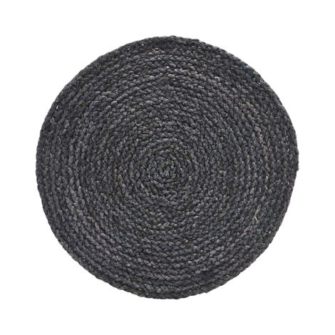 House Doctor Platzset Circle Grau/Blau 4er-Set