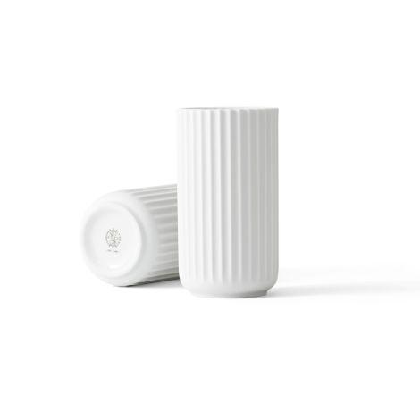 Lyngby Vase Weiß Porzellan 15,5 cm