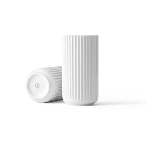 Lyngby Vase Weiß Porzellan 20,5 cm
