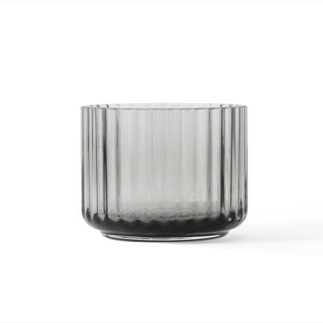 Lyngby Teelichthalter Smoke mundgeblasenes Glas
