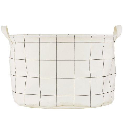 House Doctor Wäschebeutel Squares & Stripes Streifen