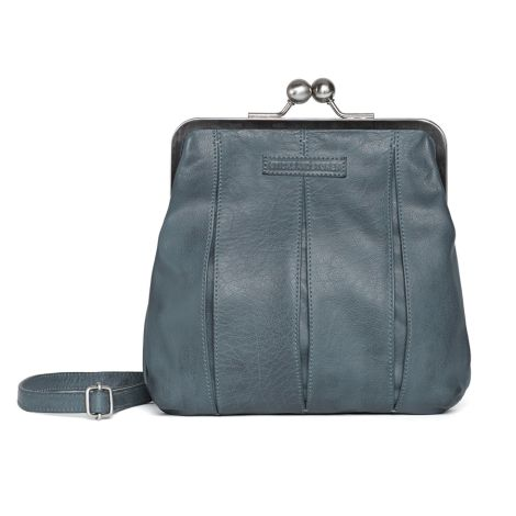 Sticks and Stones Ledertasche Luxembourg Dark Slate Washed