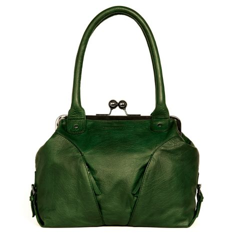 Sticks and Stones Ledertasche Madeira Green Washed