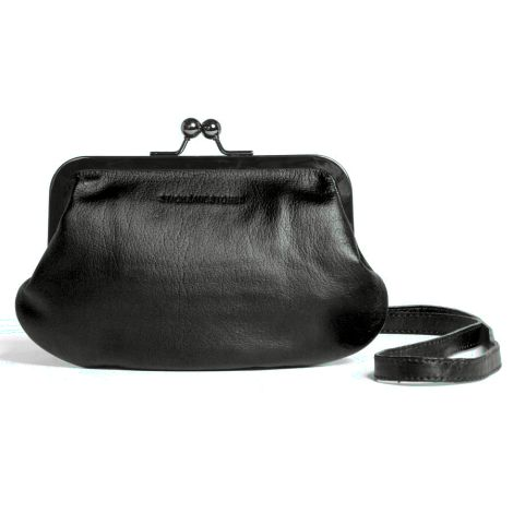 Sticks and Stones Ledertasche Malaga Anthracite Washed •