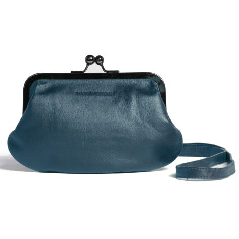Sticks and Stones Ledertasche Malaga Deep Teal Washed