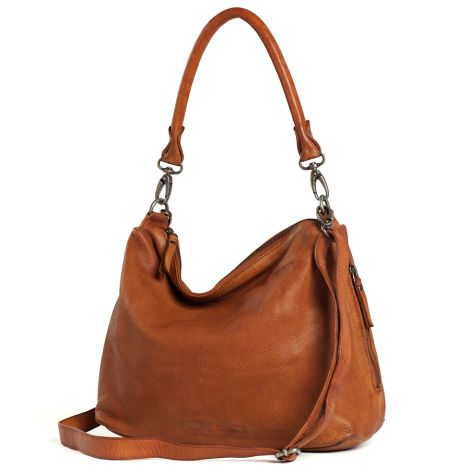 Sticks and Stones Ledertasche Marbella Cognac