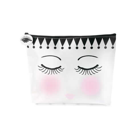 Miss Étoile Multi Bag Flat Eyes and Dots M •