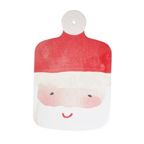Rice Melamin Schneidebrett Santa Face