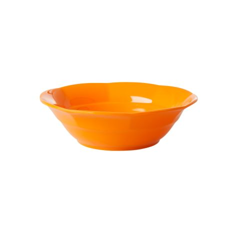 Rice Melamin Suppenschüssel Tangerine