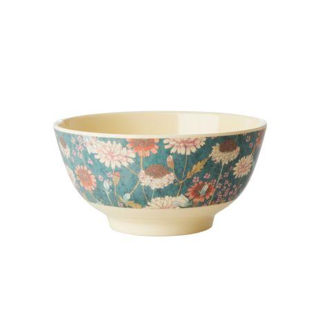 Rice Melamin Schüssel Fall Flower