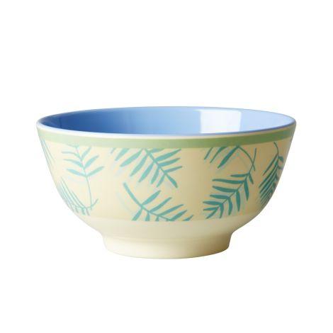 Rice Melamin Schüssel Two Tone Palm Leave