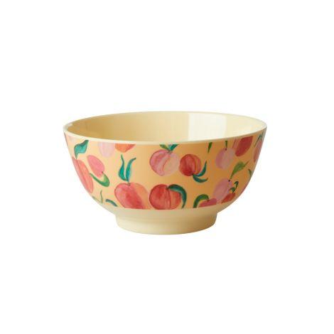 Rice Melamin Schüssel Peach