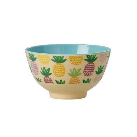 Rice Kleine Melamin Schale Pineapple