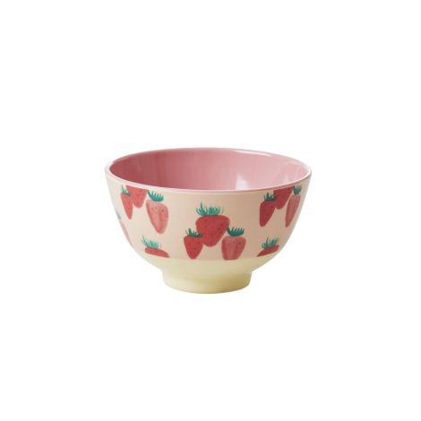 Rice Kleine Melamin Schüssel Strawberry